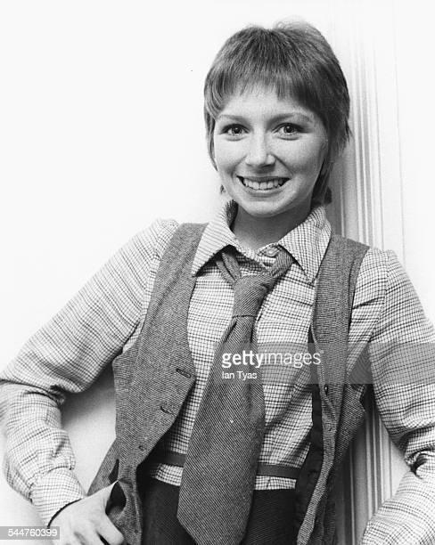 Portrait of singer Lena Zavaroni, 1978.
