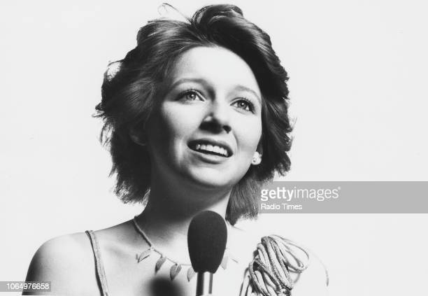 Portrait of singer Lena Zavaroni photographed for Radio Times in connection with her self titled BBC 1 television show February 21st 1981 First...