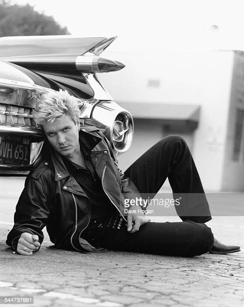 Portrait of singer Simon Le Bon of the band 'Duran Duran' circa 1985