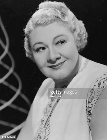Portrait of singer Sophie Tucker, who is soon to star in a ...
