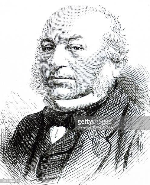 Portrait of Sir Anthony Rothschild 1st Baronet a British financier and a member of the prominent Rothschild banking family Dated 19th century