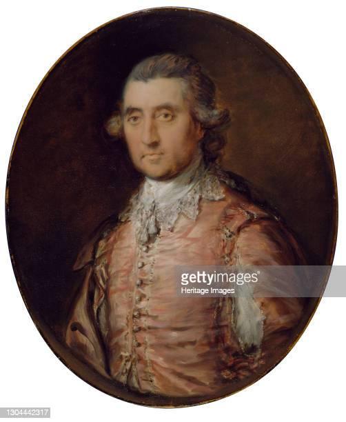 Portrait of Sir Charles Holte , 1770-1774. Artist Thomas Gainsborough.