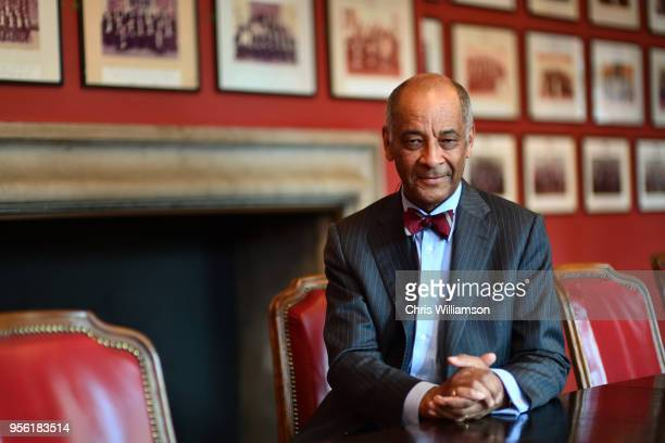 Portrait of Sir Kenneth Olisa at the Cambridge Union on May 8 2018 in Cambridge England