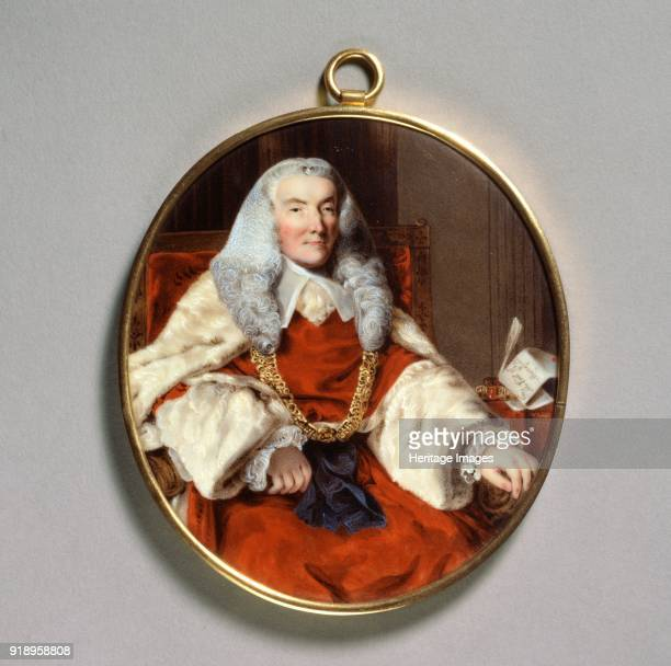 Portrait of Sir William Murray 1st Earl of Mansfield 18th century Dimensions undefined 1182 x 1042 cmheight x width x depth frame 138 x 110 mm 11 deep