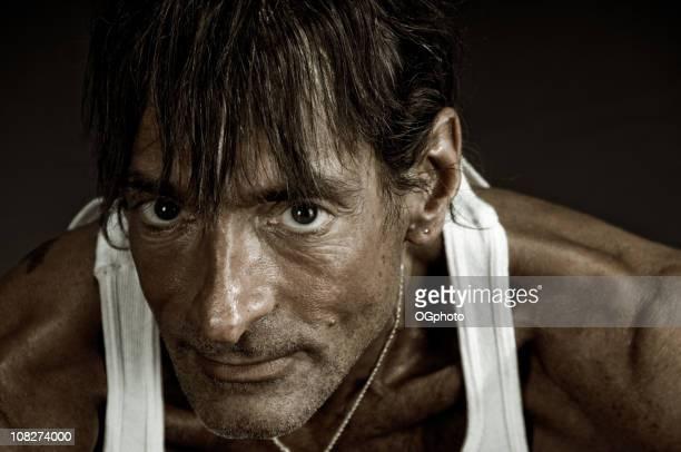 porträt von slim mann - ogphoto stock-fotos und bilder
