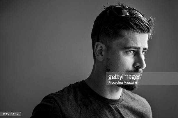 Portrait of Slovakian professional cyclist Peter Sagan, photographed in Barranquilla, Colombia, on November 16, 2019.