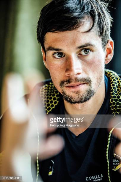 Portrait of Slovenian professional road race cyclist Primoz Roglic, photographed at The Duke hotel in Nistelrode, the Netherlands, on October 24,...
