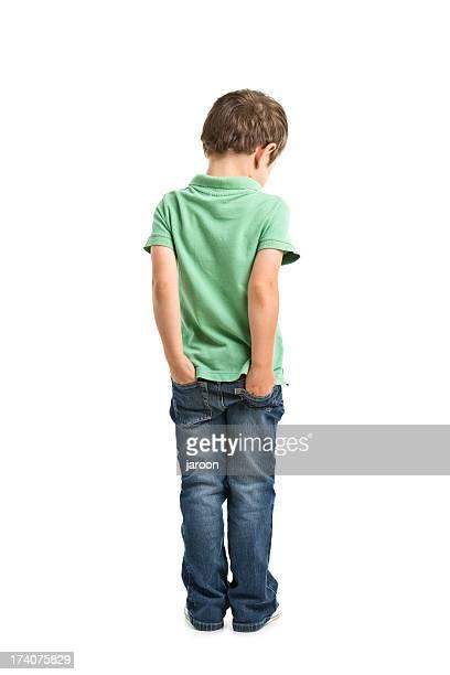 portrait d'un petit garçon - fesse enfant photos et images de collection