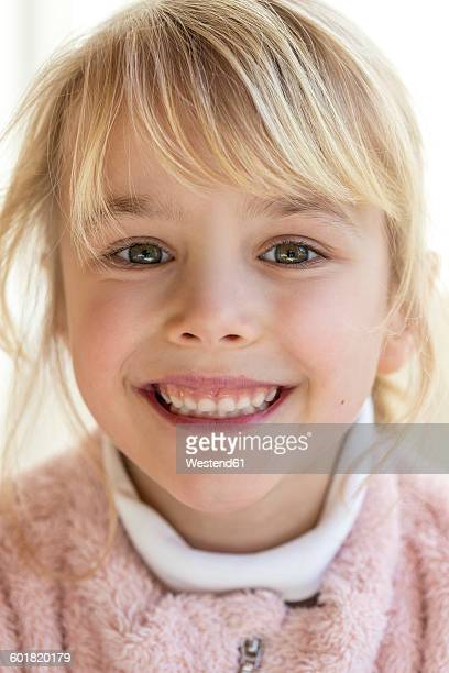 Portrait of smiling blond girl