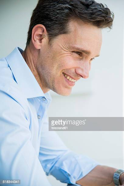 Portrait of smiling business man
