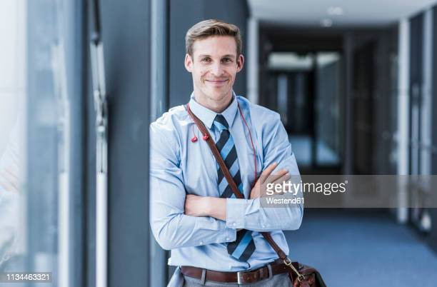 portrait of smiling businessman - employee appreciation stock pictures, royalty-free photos & images