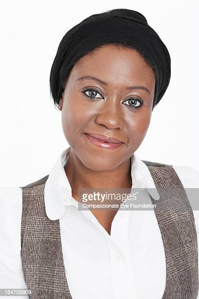 """portrait of smiling businesswoman, close up - """"compassionate eye"""" stock pictures, royalty-free photos & images"""