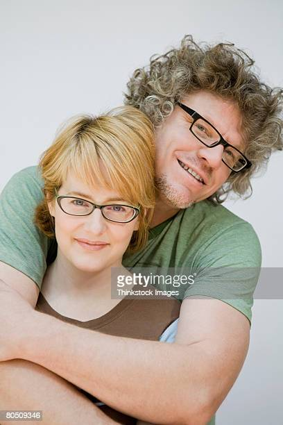 Portrait of smiling couple