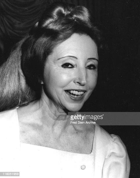Portrait of smiling French author and diarist Anais Nin New York New York 1966