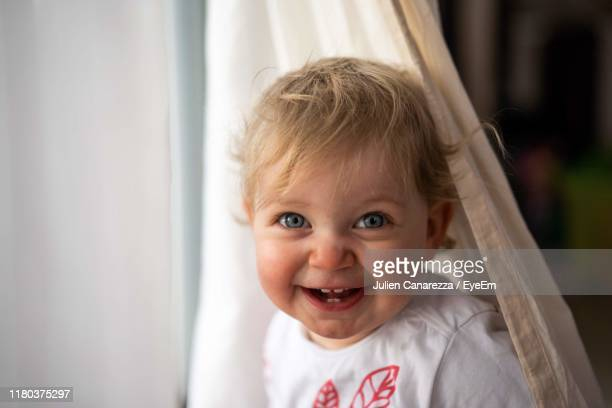 portrait of smiling girl - marne stock pictures, royalty-free photos & images
