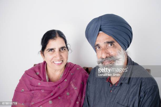 Portrait of smiling Indian couple