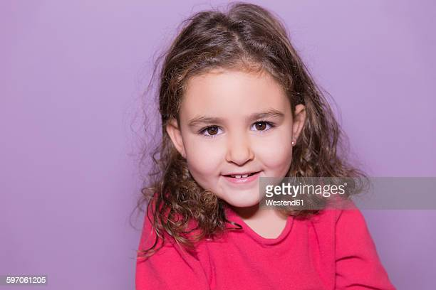 Portrait of smiling little girl