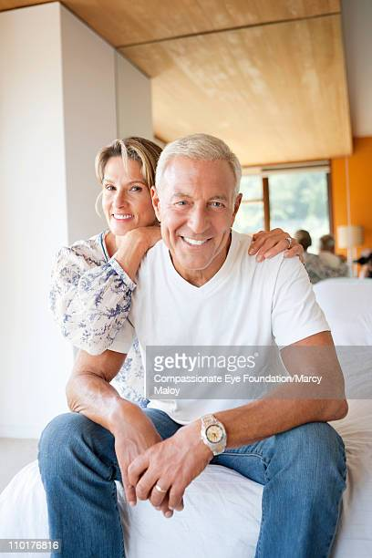 Portrait of smiling, mature couple