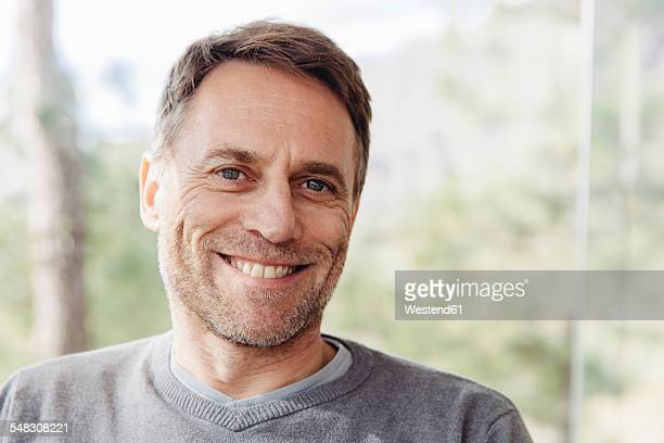 Portrait of smiling mature man