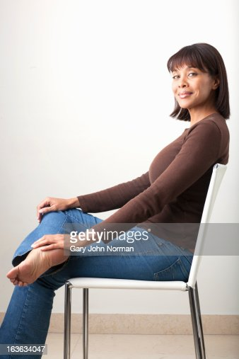 Middle Age Woman Sitting Nude Photos and Premium High Res