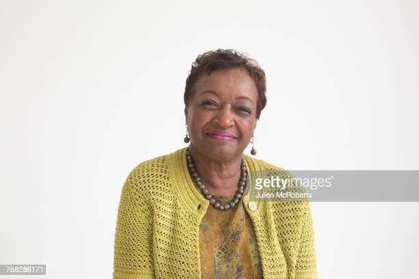 Portrait of smiling older Black woman