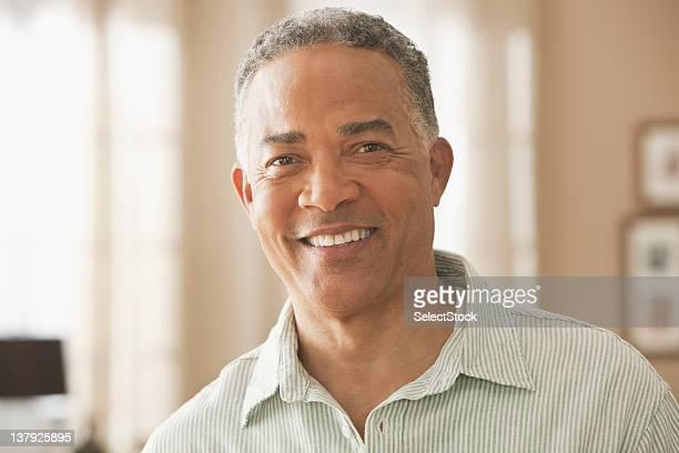 Portrait of smiling older male