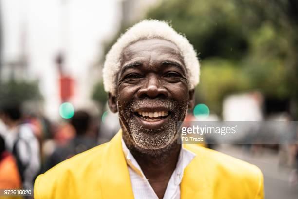 Portret van glimlachen Senior Man