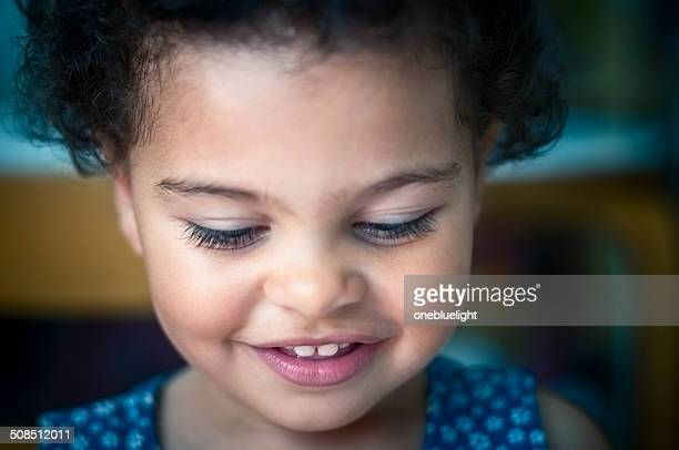 PEOPLE: Portrait Of Smiling Toddler (2-3)