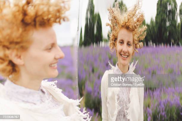 portrait of smiling young woman - bortes stock pictures, royalty-free photos & images