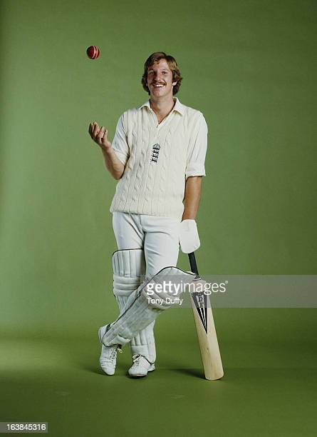 Portrait of Somerset and England cricketer Ian Botham on 1 May 1979 in London United Kingdom
