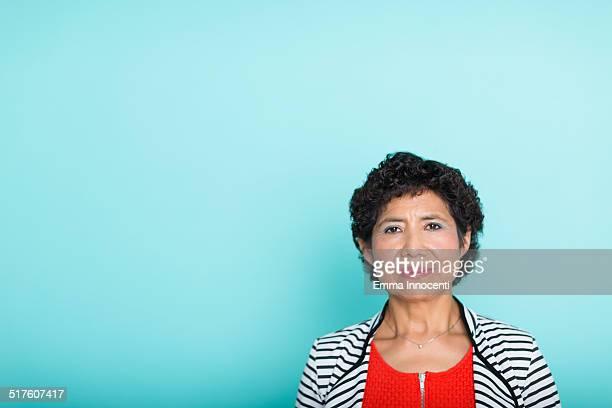 portrait of south american womann