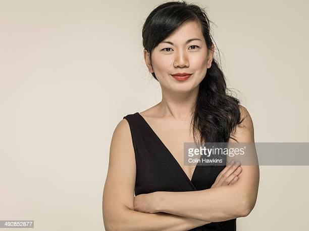 portrait of southeast asian woman - dress stock pictures, royalty-free photos & images