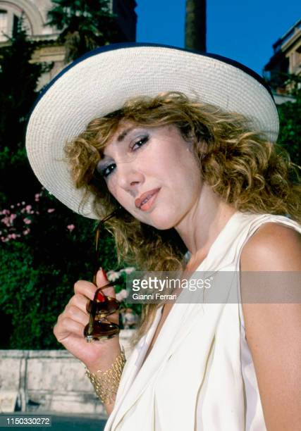 Portrait of Spanish actress Victoria Vera Madrid Spain 1990
