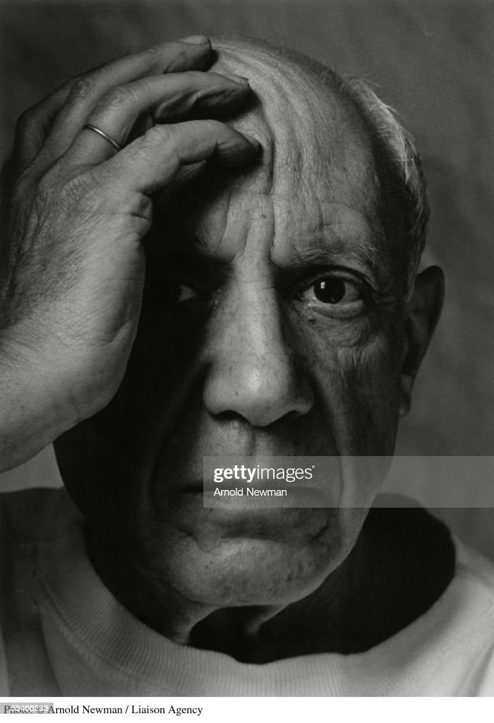 Portrait of Pablo Picasso : News Photo