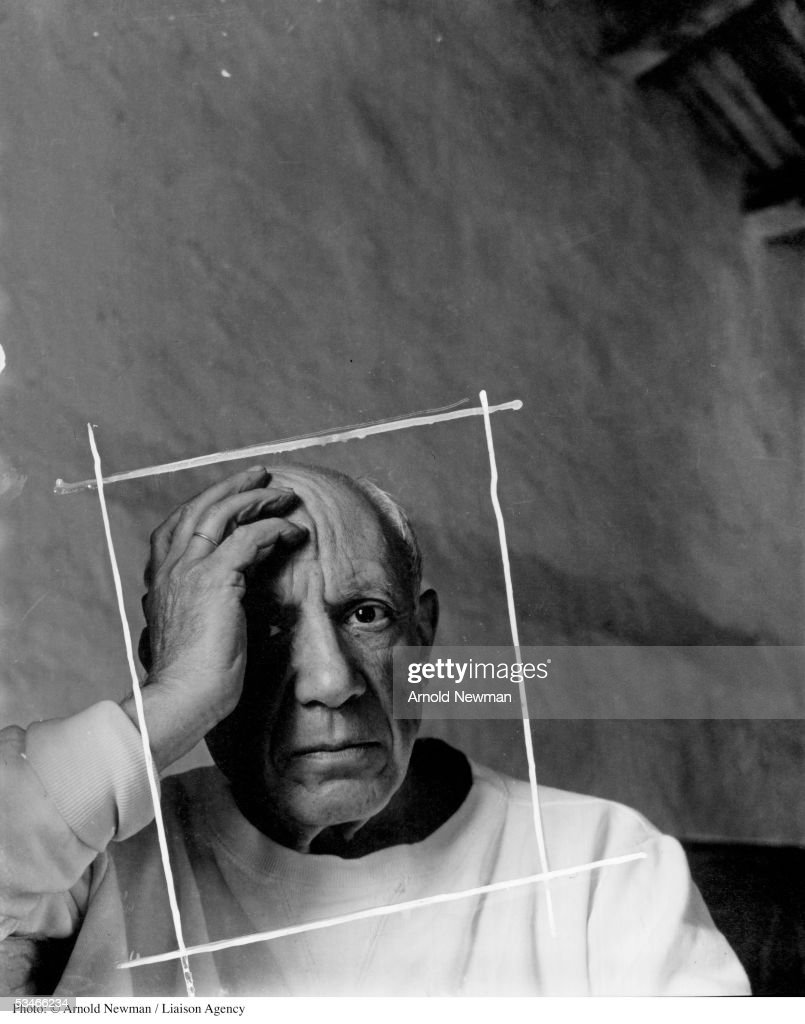 ab89b9f1ff4d Portrait of Spanish artist Pablo Picasso June 2