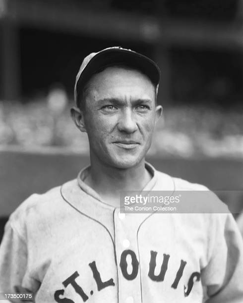 A portrait of Spencer D Adams of the St Louis Browns in 1927