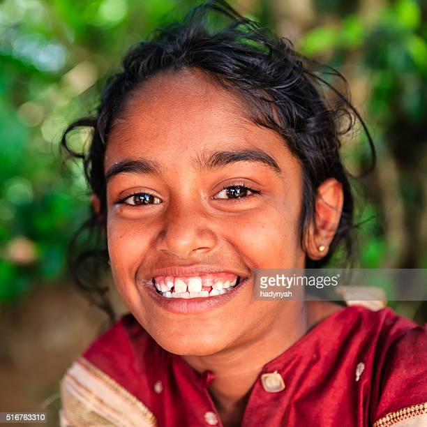 Portrait of Sri Lankan little girl
