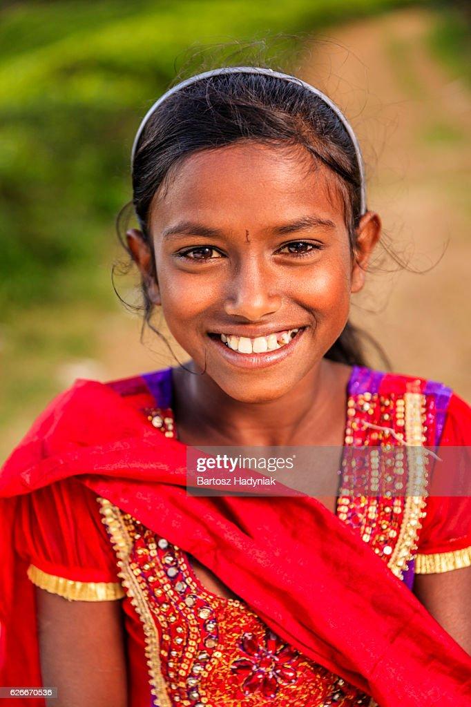 Sri Lankan Girl High Resolution Stock Photography and