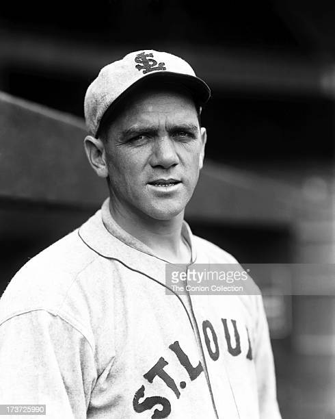 A portrait of Stephen F O'Neill of the St Louis Browns in 1927