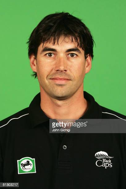 Portrait of Stephen Fleming of New Zealand taken during an ICC photocall at the Royal Garden Hotel on September 5, 2004 in London.