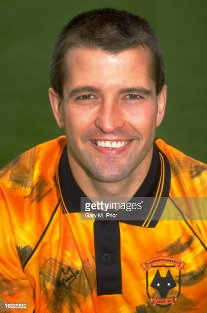 Portrait of Steve Bull of Wolverhampton Wanderers during a photocall at the Molineux Grounds in Wolverhampton England Mandatory Credit Gary M...