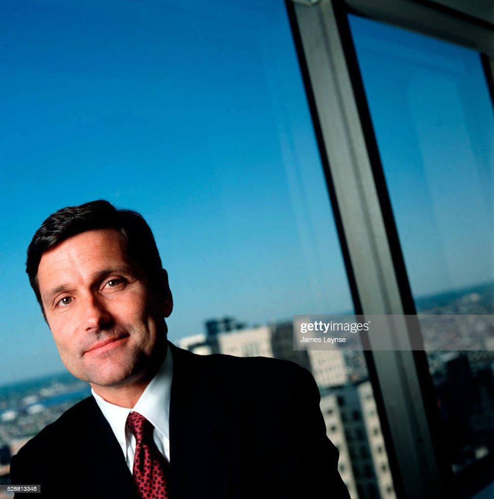 Portrait of Steve Burke, the Comcast Cable President  News Photo