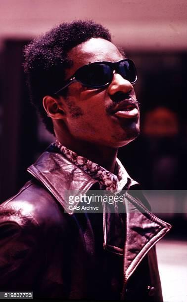 Portrait of Stevie Wonder c 1968