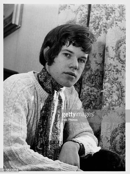Portrait of student musician Chris Jagger brother of pop singer Mick Jagger March 9th 1967