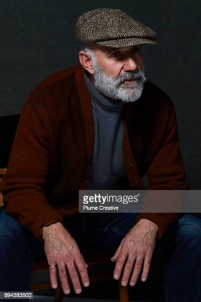 Portrait of Stylish Mature Man