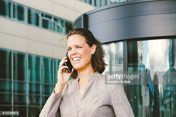 Portrait Of Successful Businesswoman In Urban Landscape