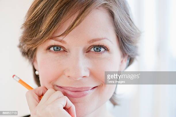 Portrait of successful mature businesswoman, smiling
