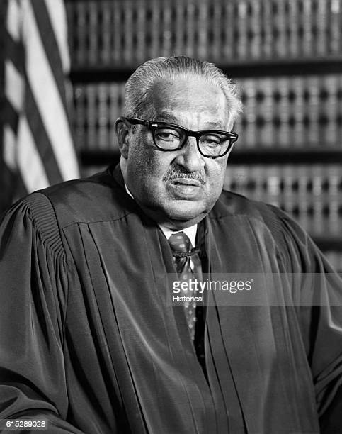Portrait of Supreme Court Justice Thurgood Marshall Marshall was the first African American on the US Supreme Court