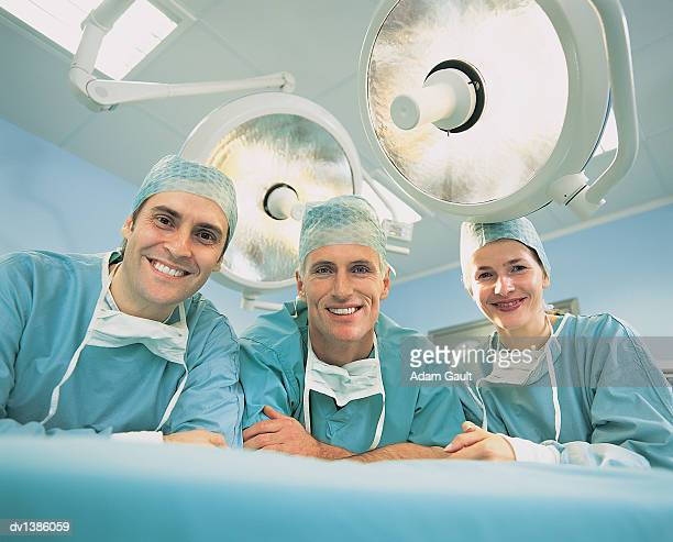 Portrait of Surgeons in an Operating Room
