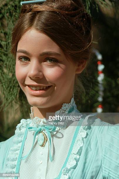 Portrait of Susan Dey actress on the television show The Partridge Family